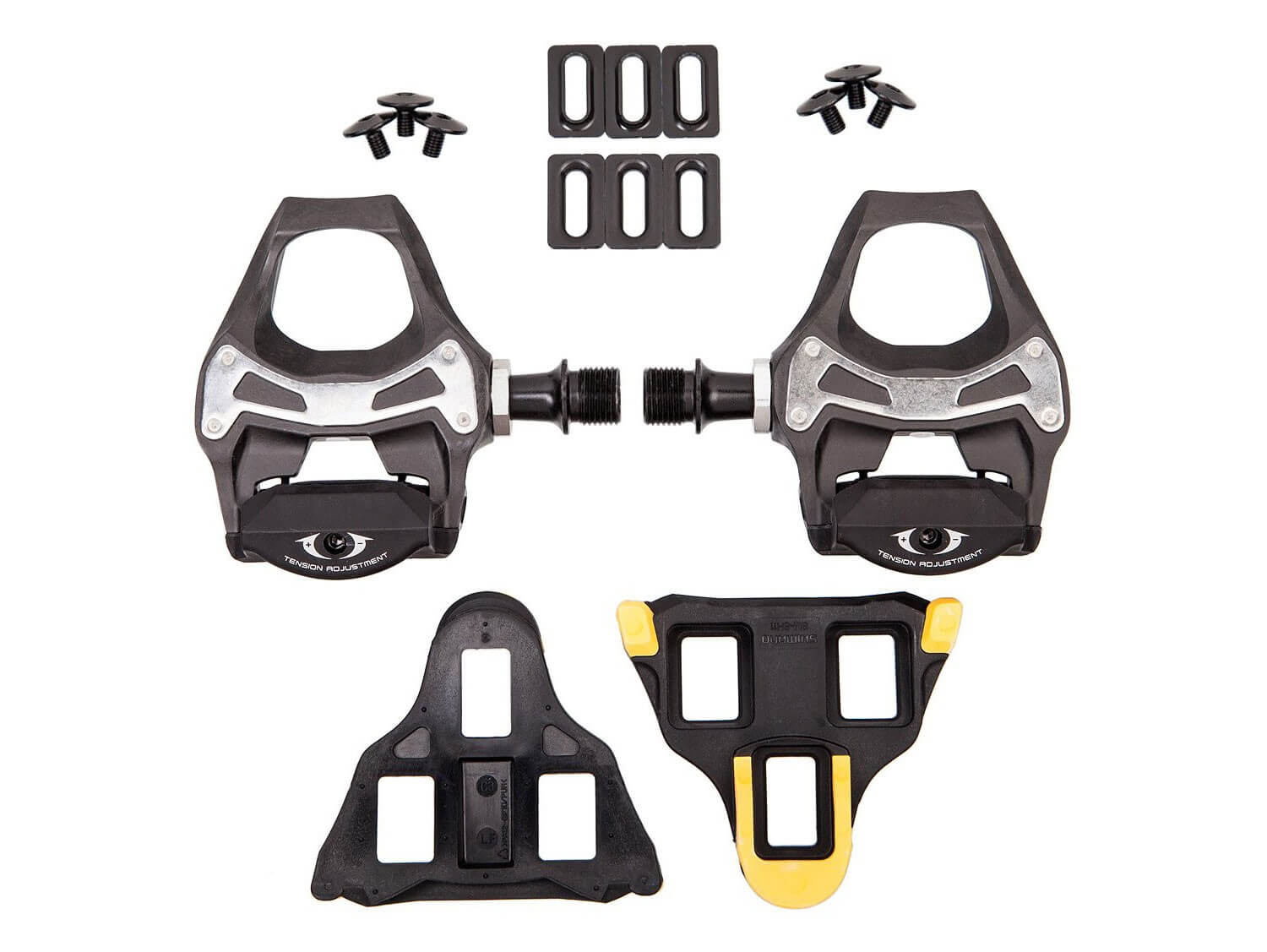 0a215f69dd4 Shimano 105 5800 Carbon SPD-SL Clipless Road Pedals w Cleats – JetCycle