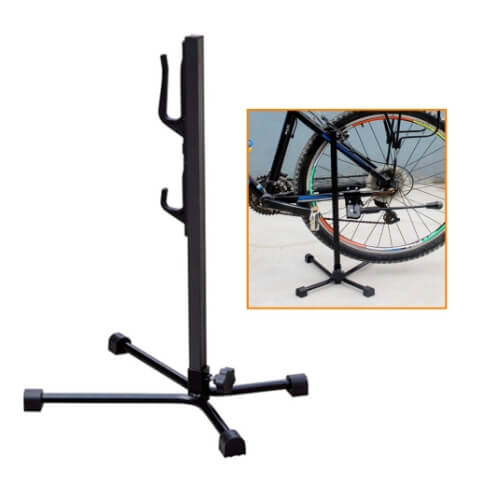 Self Standing Dual Bicycle 4 Leg Tripod Stand Jetcycle